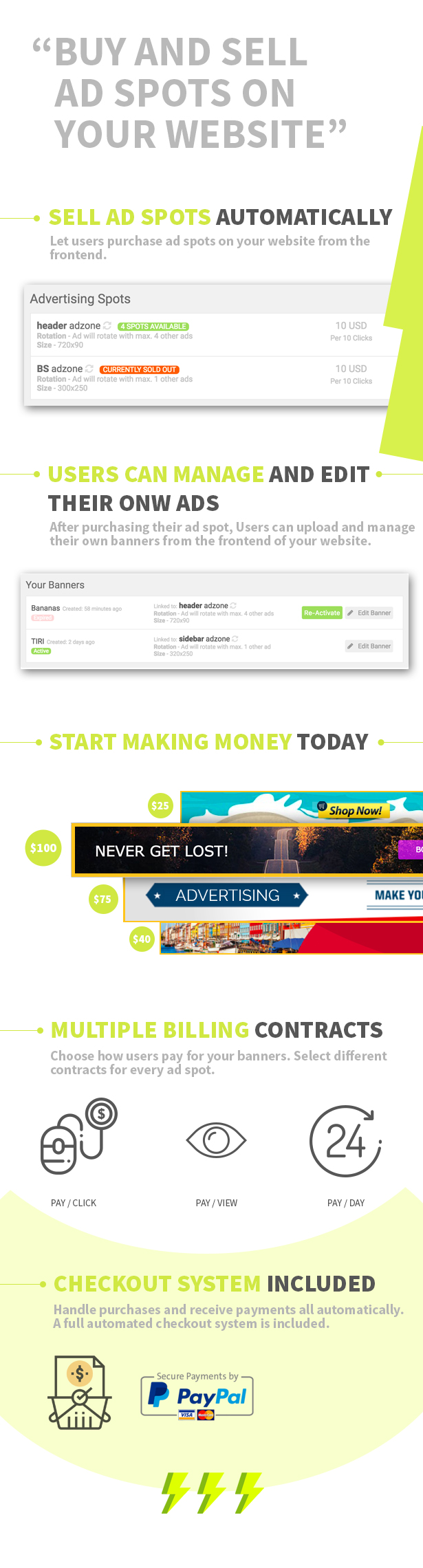 Купить и продать рекламу на вашем WordPress сайте